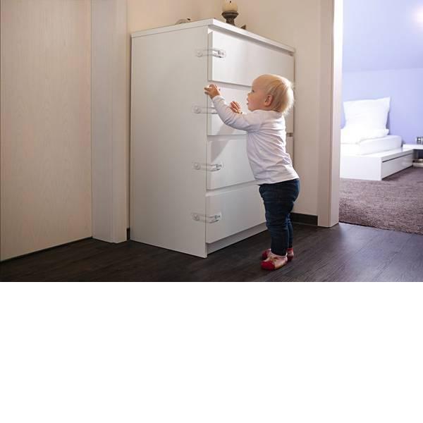 Sicurezza per bambini - Serratura cassetto ABUS JONAS ABJC76965 -