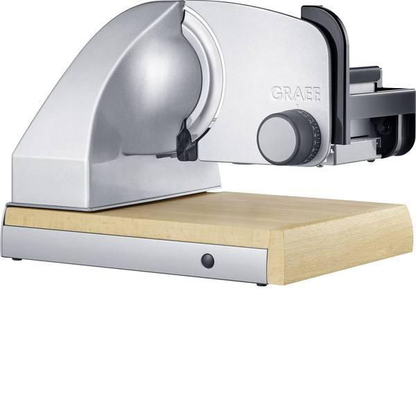 Affettatrici - Affettatutto Graef Sliced Kitchen SKS 850 Argento, Legno -