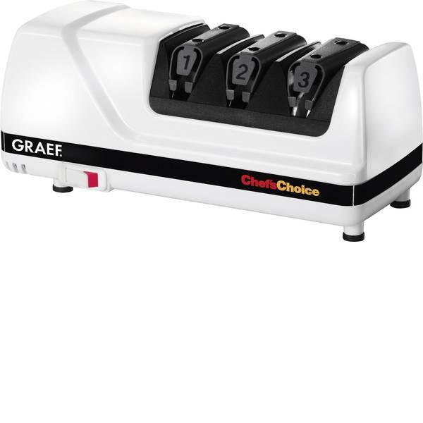 Elettrodomestici e altri utensili da cucina - Affilacoltelli Graef CC120DE Bianco, Nero -