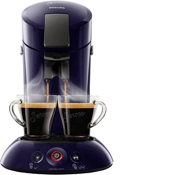 Macchine per caffè a capsule Senseo - Macchina per caffè con cialde SENSEO® HD6554/40 Original HD6554/40 Blu scuro -