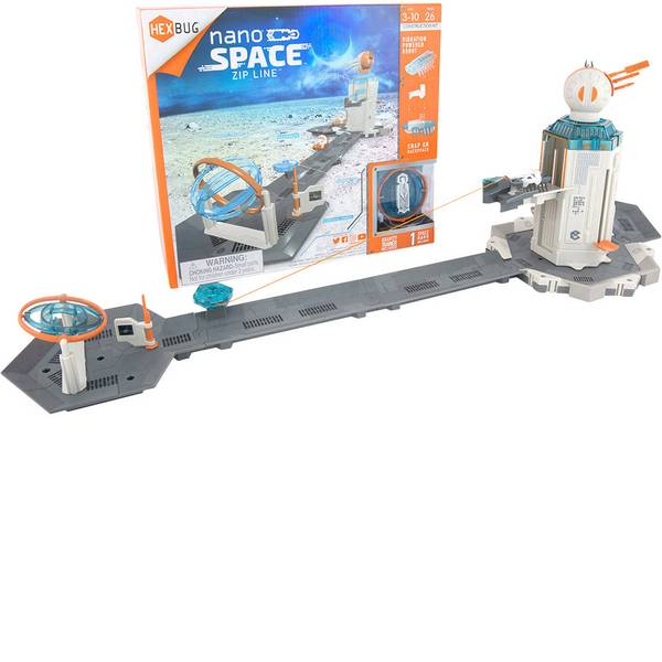 Robot giocattolo - HexBug Nano Space Zip Line Robot giocattolo -