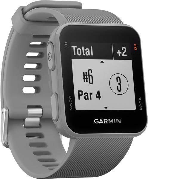 Dispositivi indossabili - Garmin Approach S10 Orologio Golf GPS Grigio chiaro -