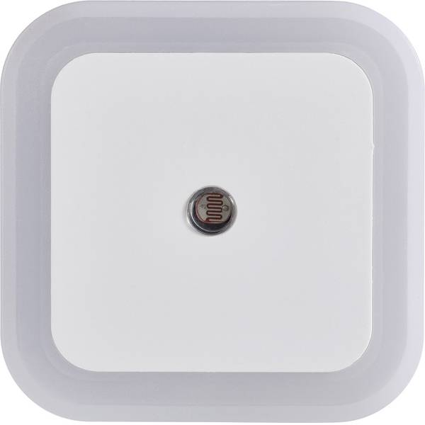 Luci notturne - Melianda MA-3700 Luce notturna LED Kit da 4 Quadrato LED Bianco neutro Bianco -