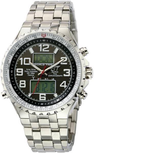 Orologi da polso - Radiocontrollato, Solare Cronografo EGS-11328-81M (Ø x A) 45 mm x 14 mm Argento Materiale cassa=Acciaio inox Materiale  -
