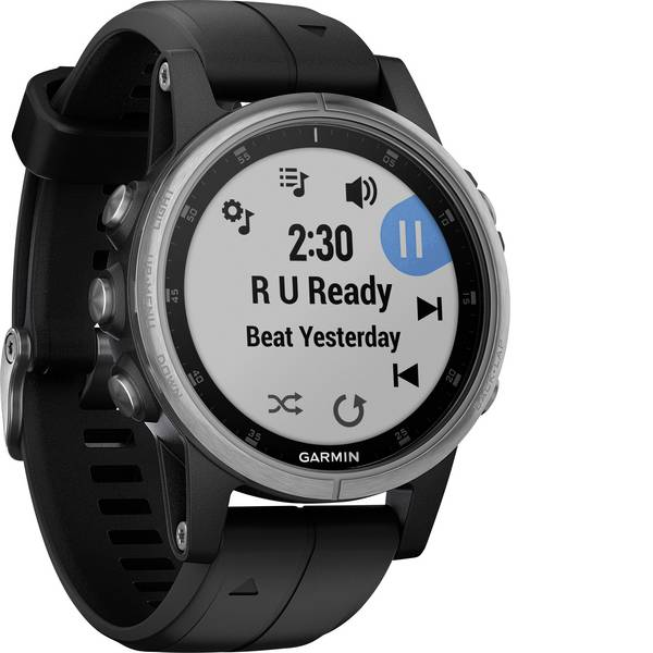 Dispositivi indossabili - Garmin f?nix 5S Plus Smartwatch Nero -