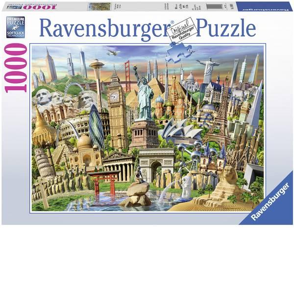 Puzzle - Ravensburger Puzzle - panorami in tutto il mondo -