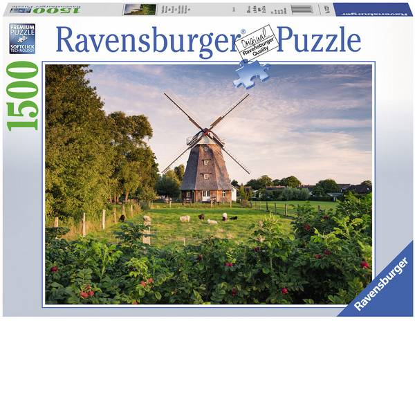 Puzzle - Ravensburger Puzzle - mulino a vento a Ostsee -