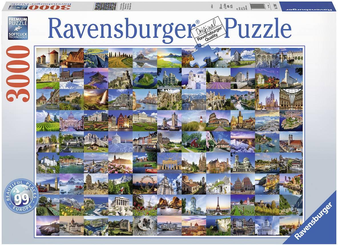 Ravensburger 99 Beautiful Plac