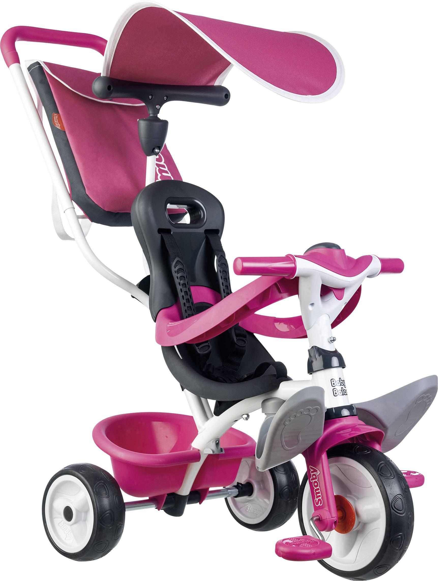 Smoby Triciclo Rosa Baby Balade