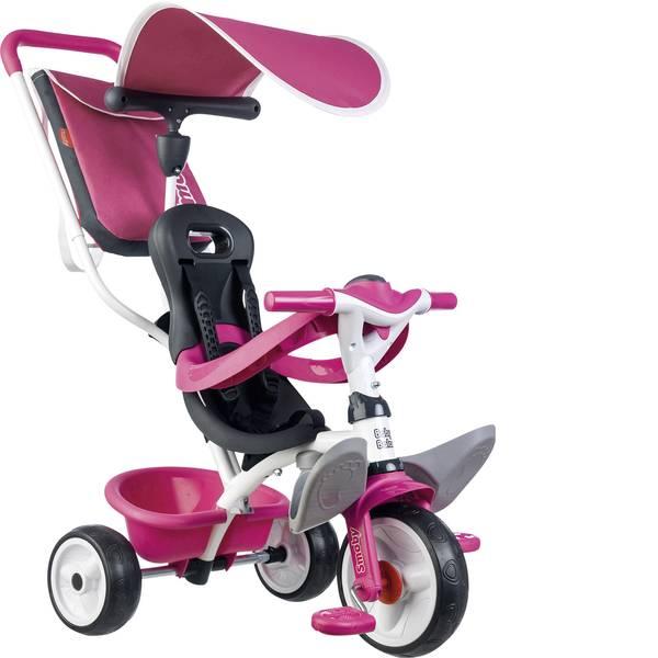 Veicoli a pedali - Smoby Triciclo Rosa Baby Balade -