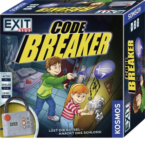 Giochi di società e per famiglie - I bambini codice kosmos EXIT Breaker - Attiva la enigma e ® spinge al limite il lucchetto! -