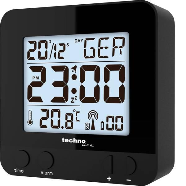 Sveglie - Techno Line WT235 sw Radiocontrollato Sveglia Nero Tempi di allarme 1 -