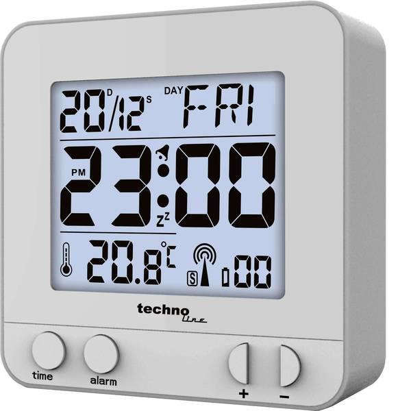 Sveglie - Techno Line WT235 si Radiocontrollato Sveglia Argento Tempi di allarme 1 -