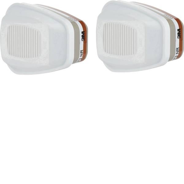 Filtri per protezione delle vie respiratorie - 3M Gas e filtri combinati 6098 4 pz. -