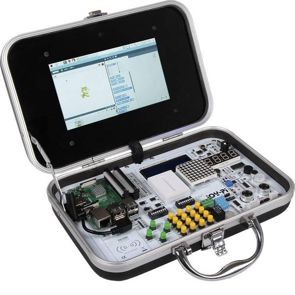 Schede di sviluppo e Single Board Computer - Kit valigetta per esperimenti Joy-Pi, Joy-it, All in One education box, adatto per Raspberry Pi -