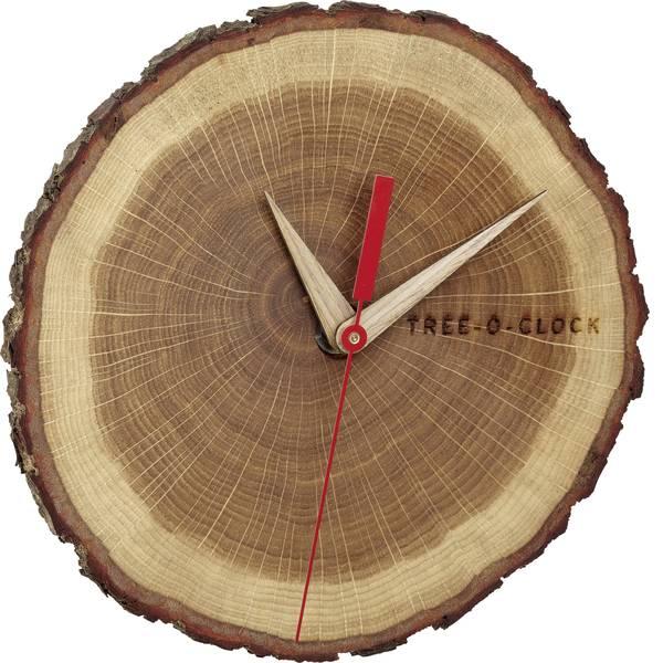 Orologi da parete - TFA 60.3046.08 Quarzo Orologio da parete 172 mm x 180 mm x 40 mm Quercia, Legno In vero legno -