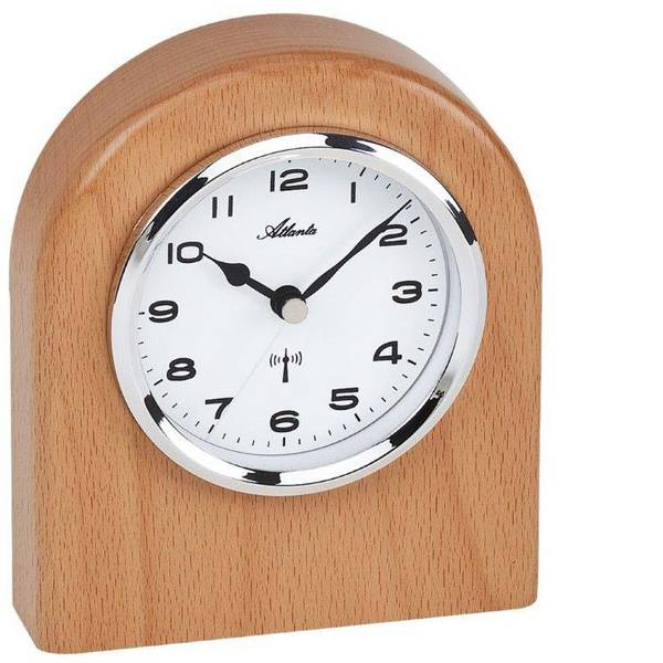 Orologi da tavolo - Orologio da tavolo Radiocontrollato Atlanta Uhren 3130 Faggio -