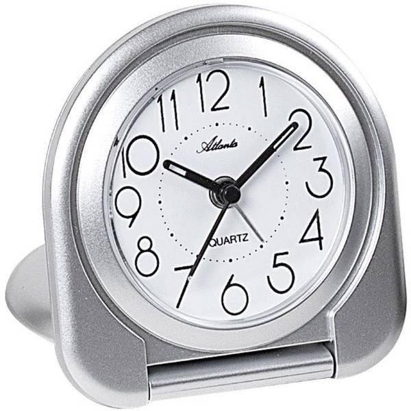 Sveglie - Atlanta Uhren 1909/19 Quarzo Sveglia Argento -