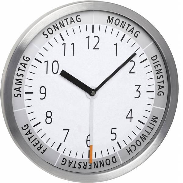 Orologi da parete - TFA 60.3044.02 Quarzo Orologio da parete 303 mm x 43 mm Alluminio -