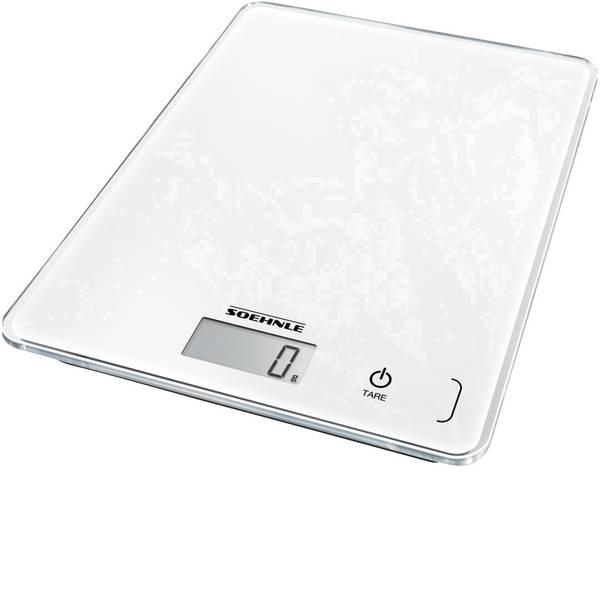 Bilance da cucina - Soehnle KWD Page Compact 300 Bilancia da cucina digitale con fissaggio a parete Portata max.=5 kg Bianco -