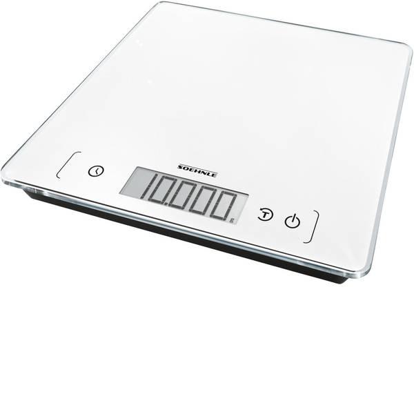 Bilance da cucina - Soehnle KWD Page Comfort 400 Bilancia da cucina digitale Portata max.=10 kg Bianco -