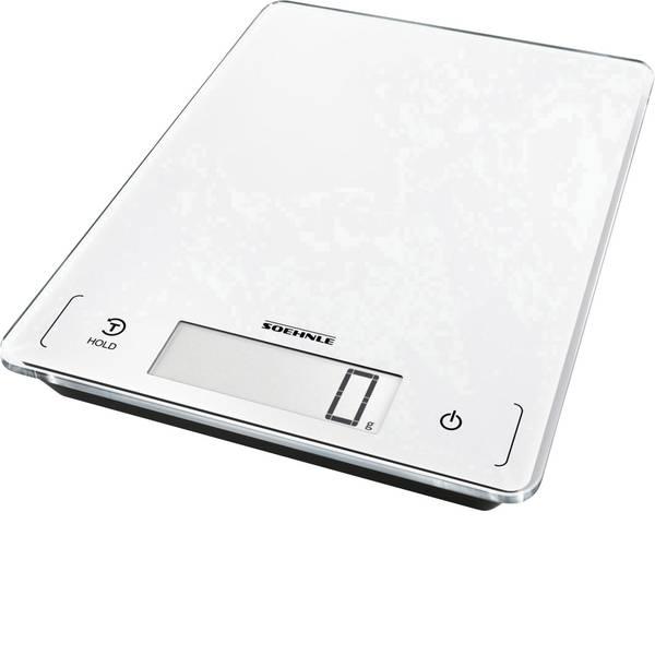 Bilance da cucina - Soehnle KWD Page Profi 300 Bilancia da cucina digitale Portata max.=20 kg Argento -