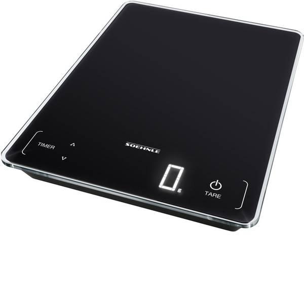 Bilance da cucina - Soehnle KWD Page Profi 100 Bilancia da cucina digitale Portata max.=15 kg Nero -