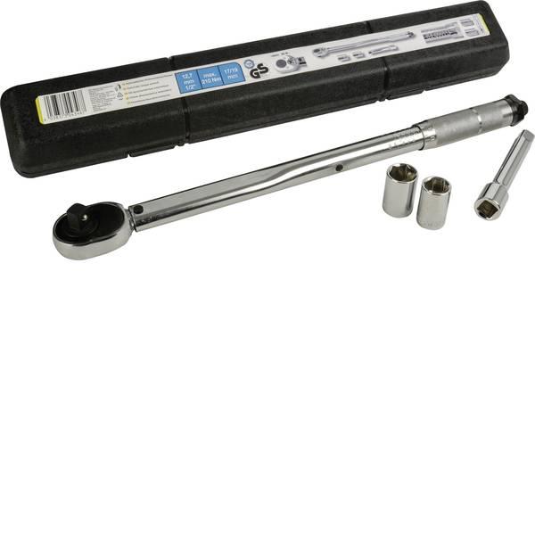 Chiavi dinamometriche - cartrend 146002 Kit chiavi dinamometriche con cricchetto reversibile 1/2 (12.5 mm) 210 Nm (max) -