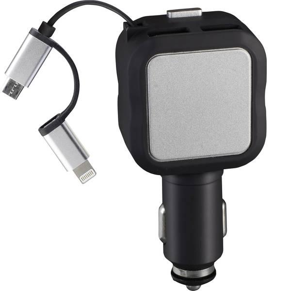 Accessori per presa accendisigari - cartrend Multi-connettore di ricarica USB -