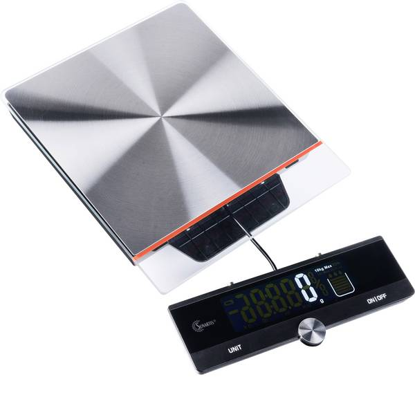 Bilance da cucina - MINGLE ME315 Bilancia da cucina digitale Portata max.=10 kg Acciaio, Nero -