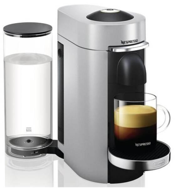 Macchine a capsule Nespresso - DeLonghi ENV155.S VertuoPlus 0132191774 Argento Macchina per caffè con capsule -