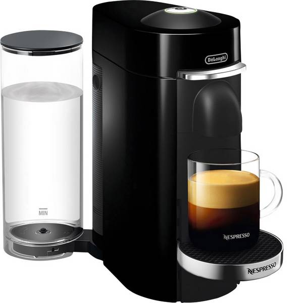 Macchine a capsule Nespresso - DeLonghi ENV155.B VertuoPlus 0132191773 Nero Macchina per caffè con capsule -