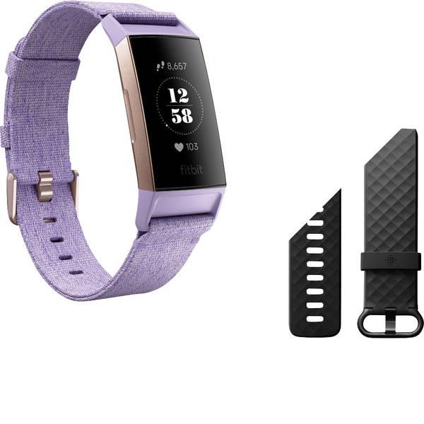 Dispositivi indossabili - FitBit Charge 3 Special Edition Fitness Tracker Lavanda -