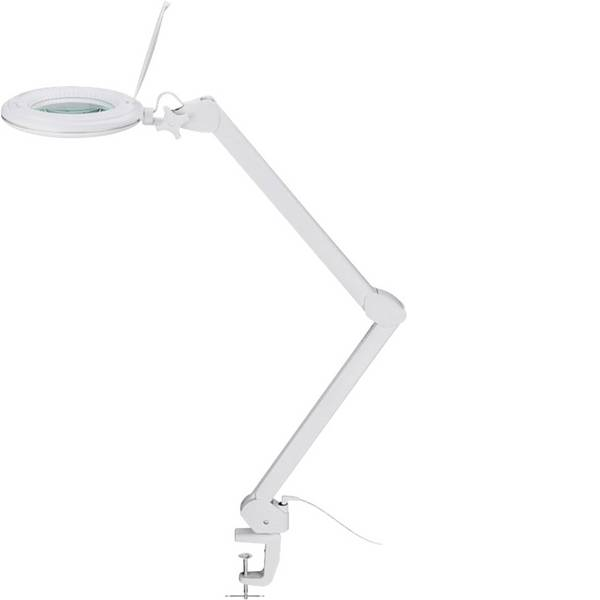 Lampade tecniche e lenti da laboratorio - Goobay 55667 Lampada con lente dingrandimento con morsetto LED, 1~9W Raggio di lavoro: 700 mm -