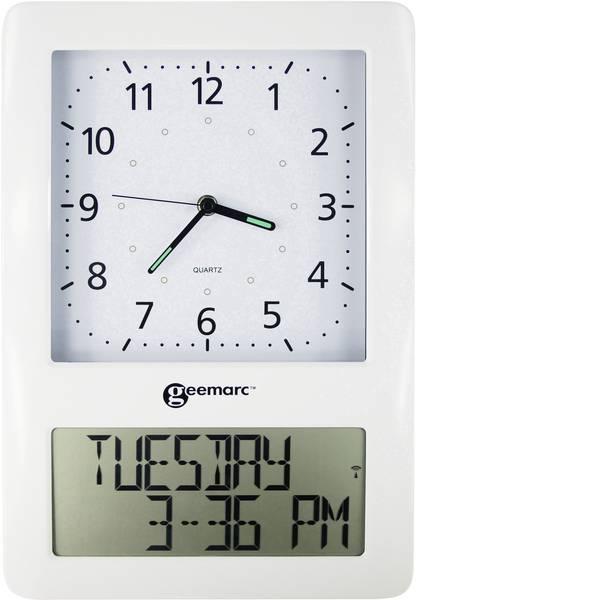 Orologi da tavolo - Orologio da parete Radiocontrollato Geemarc VISO50_WH_VDE Bianco -