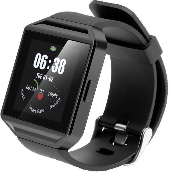 Dispositivi indossabili - TrendGeek TG-SW2HR Smartwatch Nero -