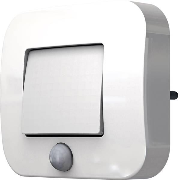 Luci notturne - LEDVANCE Lunetta Hall 4058075126107 Luce notturna LED con sensore di movimento Rettangolare LED Bianco caldo Bianco -
