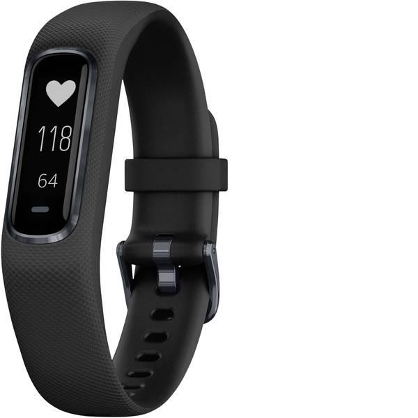 Dispositivi indossabili - Garmin vivosmart 4 Fitness Tracker S/M Nero -