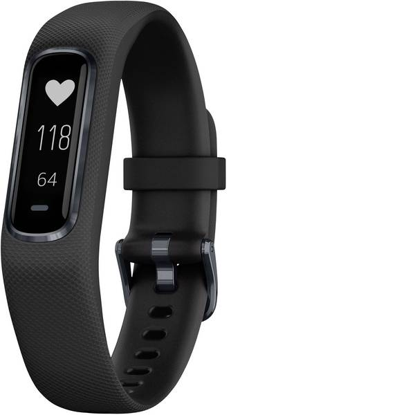 Dispositivi indossabili - Garmin vivosmart 4 Fitness Tracker L Nero -