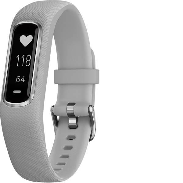 Dispositivi indossabili - Garmin vivosmart 4 Fitness Tracker S/M Grigio chiaro -