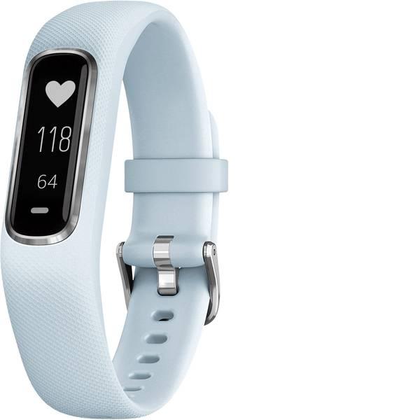 Dispositivi indossabili - Garmin vivosmart 4 Fitness Tracker S/M Blu chiaro -