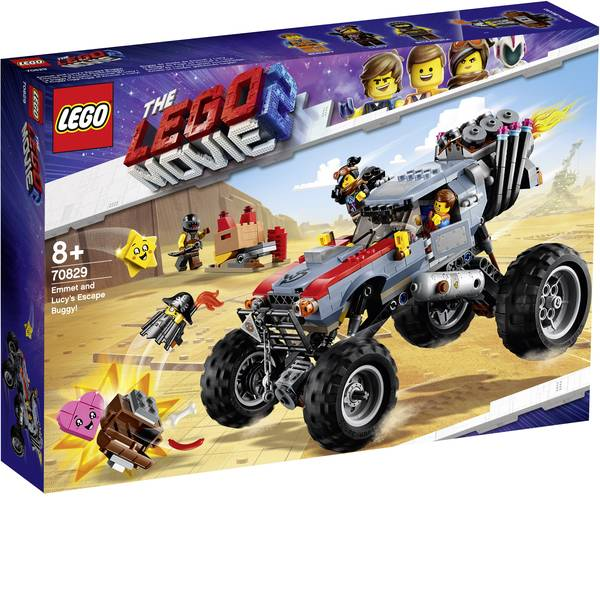 The LEGO® Movie 2 - The LEGO® MOVIE 70829 Emmets e lucys buggy fuga! -