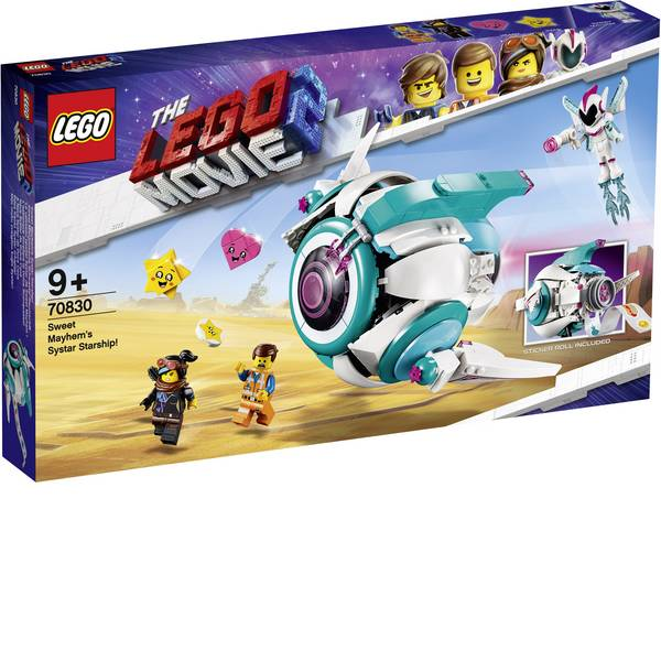 The LEGO® Movie 2 - The LEGO® MOVIE 70830 Sweet Mischmaschs Systar nave spaziale -