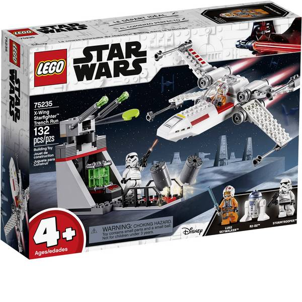 LEGO® STAR WARS - LEGO® STAR WARS™ 75235 X-Wing Fighter di Star™ Run trench -
