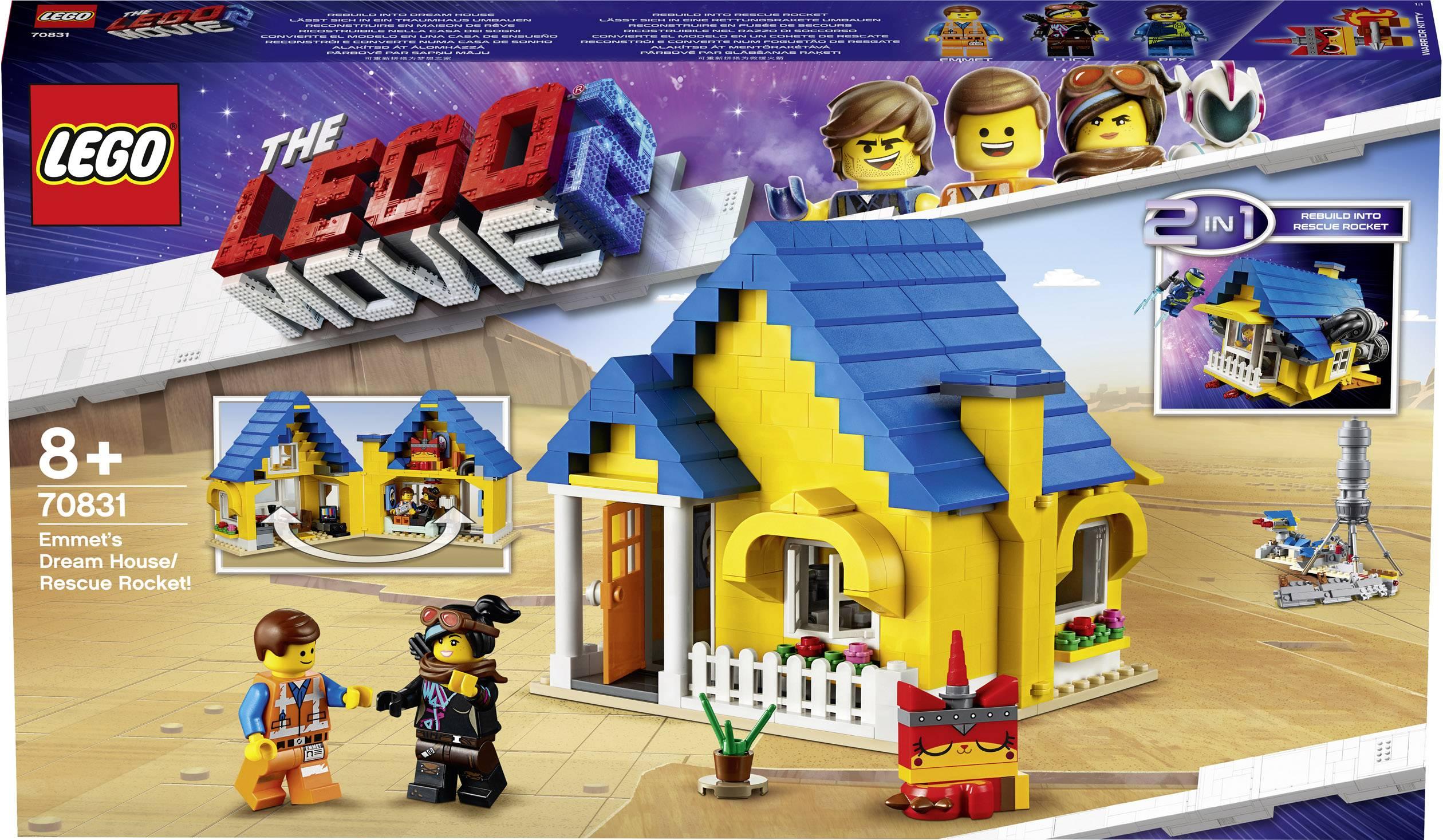 LEGO ® 70831 emmets casa da sogno//razzo di salvataggio!