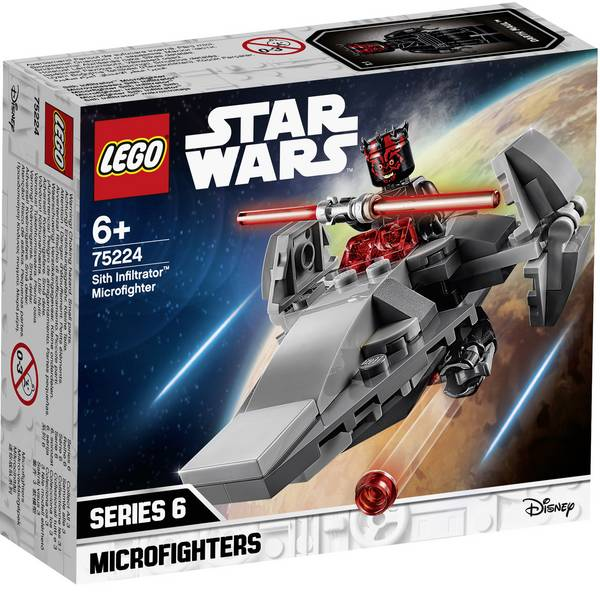 LEGO® STAR WARS - LEGO® STAR WARS™ 75224 Sith Infiltrator™ micro Fighter -
