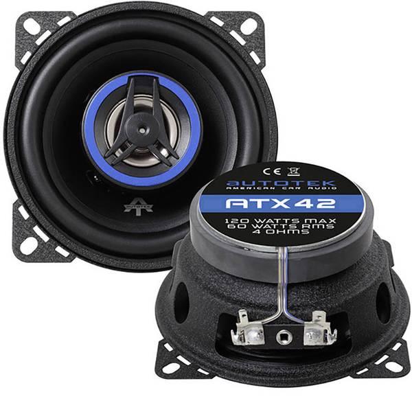 Altoparlanti da incasso per auto - Autotek ATX 42 Altoparlante coassiale da incasso a 2 vie 120 W Contenuto: 1 pz. -