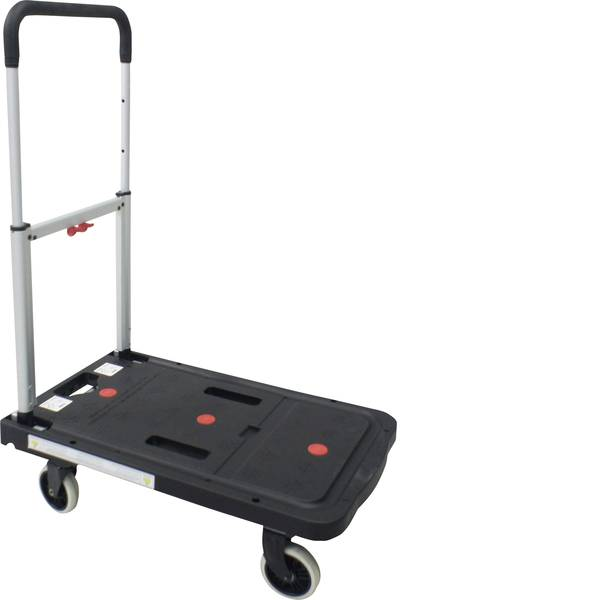Carrelli con pianale - Carrello con pianale pieghevole Alluminio, Plastica Capacità di carico (max.): 130 kg VISO RMP 600 -
