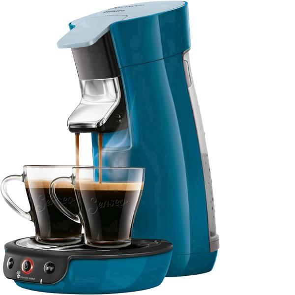 Macchine per caffè a capsule Senseo - Macchina per caffè con cialde SENSEO® Viva Café HD6563/70 Blu regolabile in altezza -