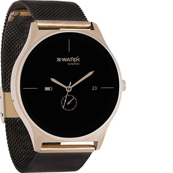 Dispositivi indossabili - X-WATCH JOLI XW PRO black / gold Smartwatch Nero -